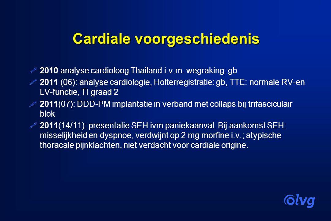 Cardiale voorgeschiedenis