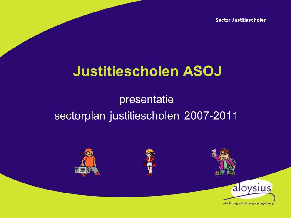 presentatie sectorplan justitiescholen 2007-2011