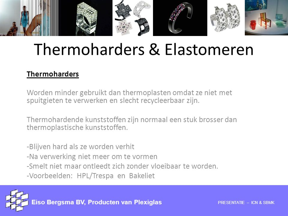 Thermoharders & Elastomeren