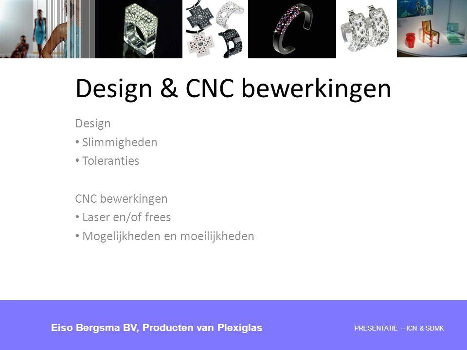 Design & CNC bewerkingen