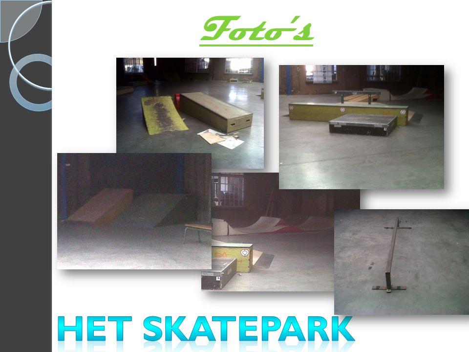 Foto's Het skatepark