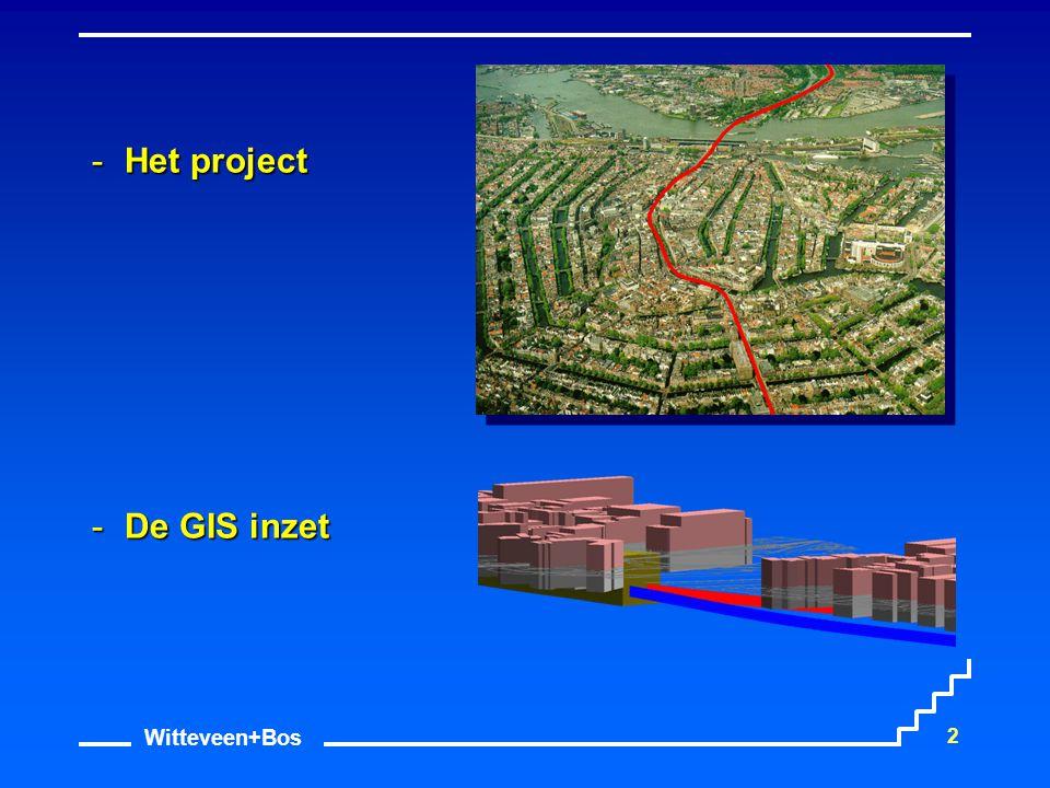 Het project De GIS inzet