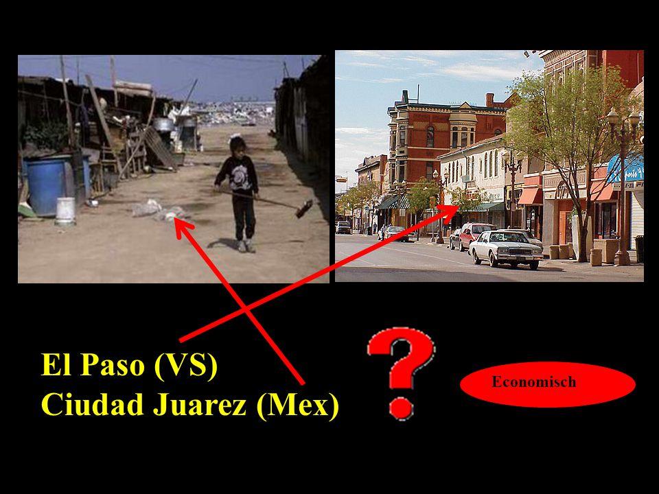 El Paso (VS) Ciudad Juarez (Mex)