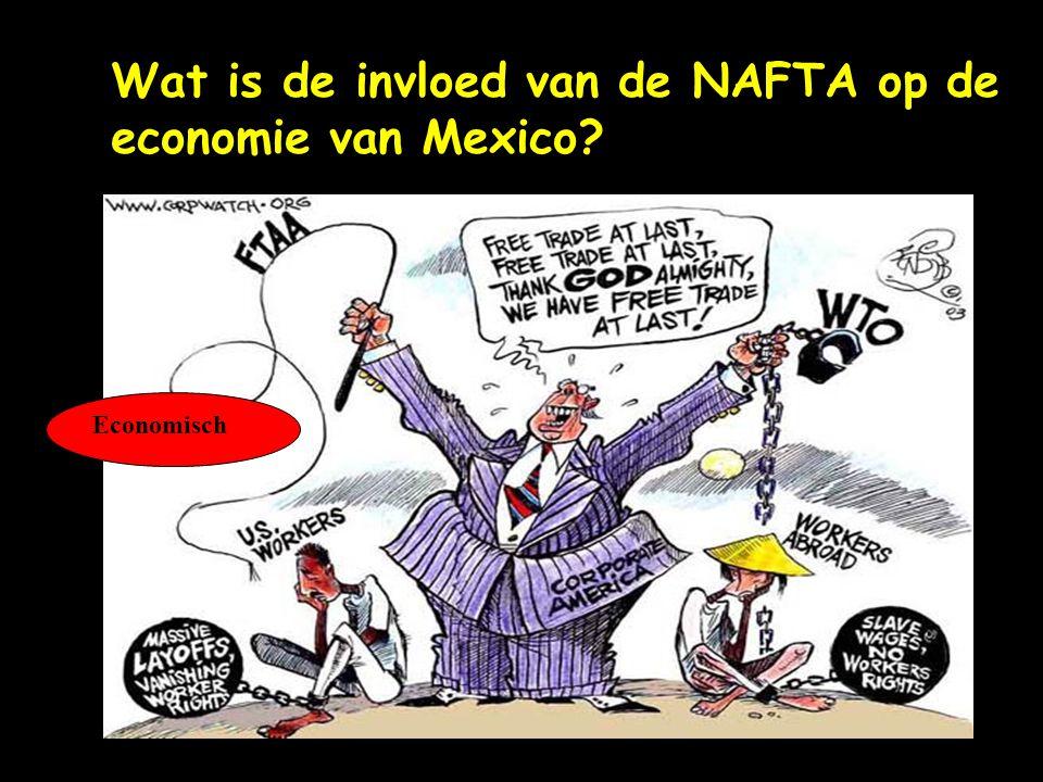 Wat is de invloed van de NAFTA op de economie van Mexico