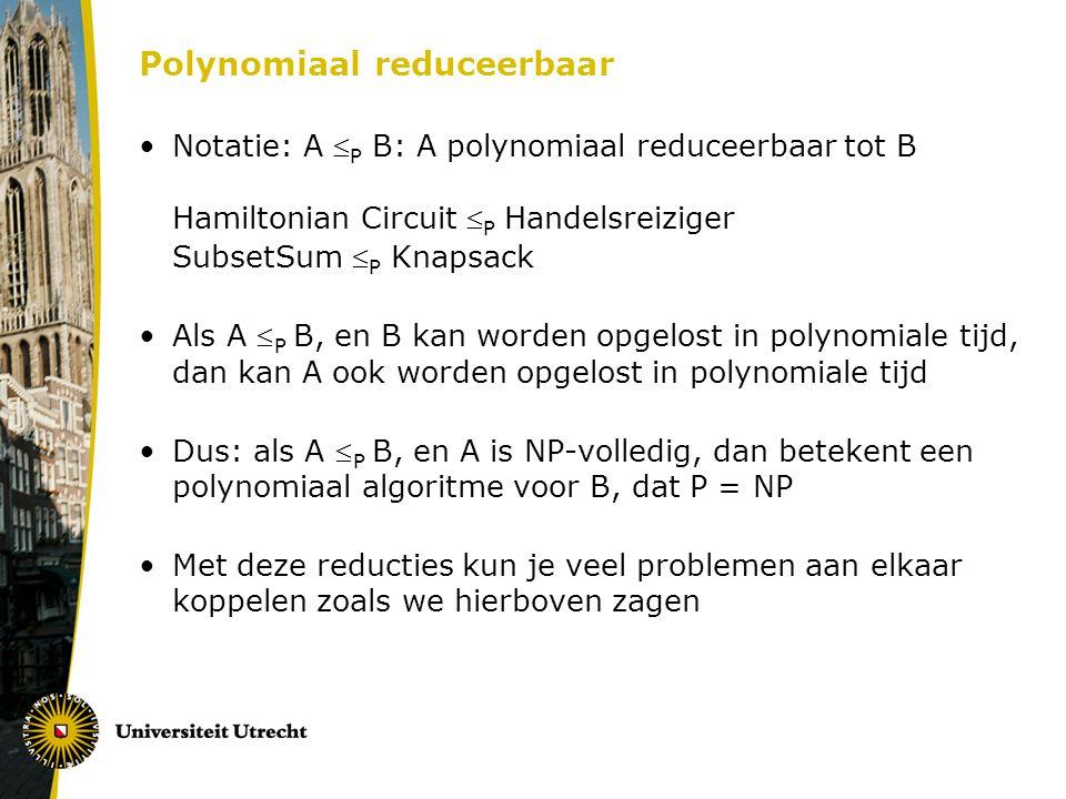 Polynomiaal reduceerbaar