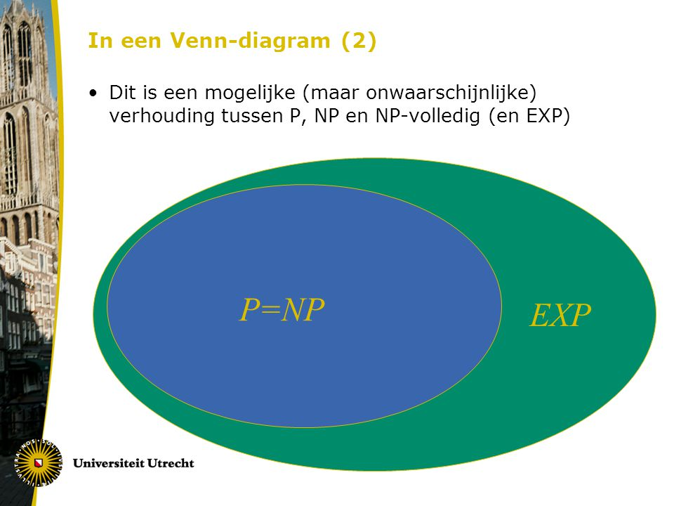 P=NP EXP In een Venn-diagram (2)