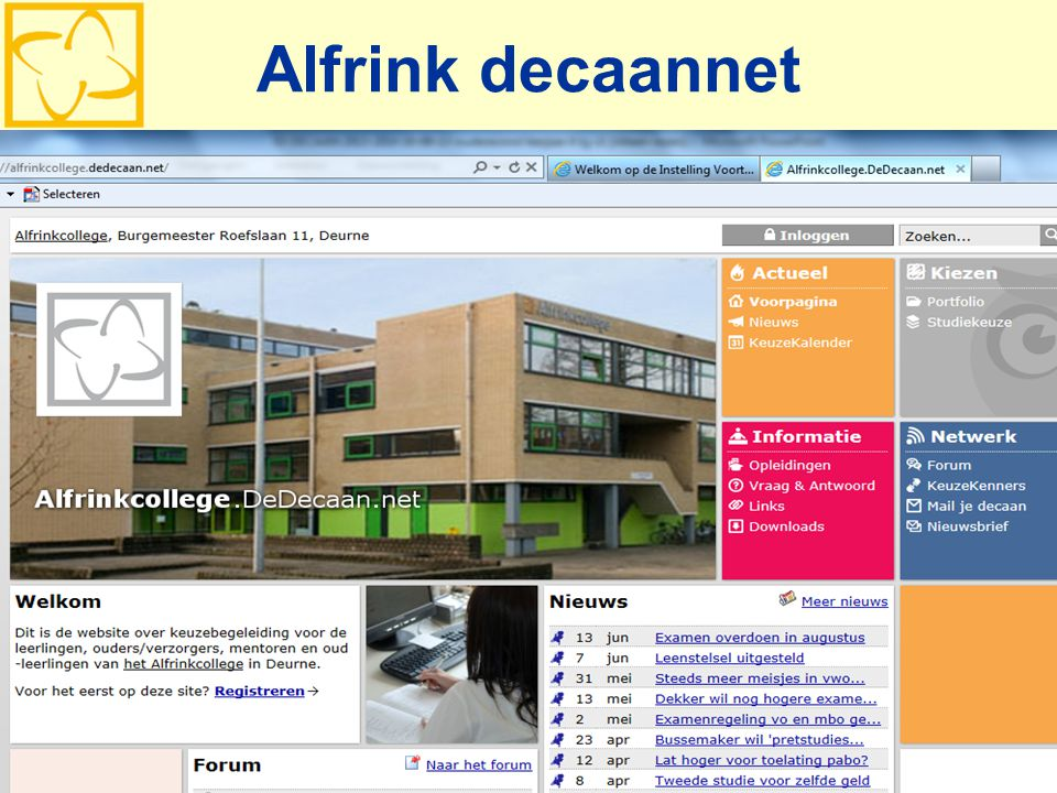 Alfrink decaannet