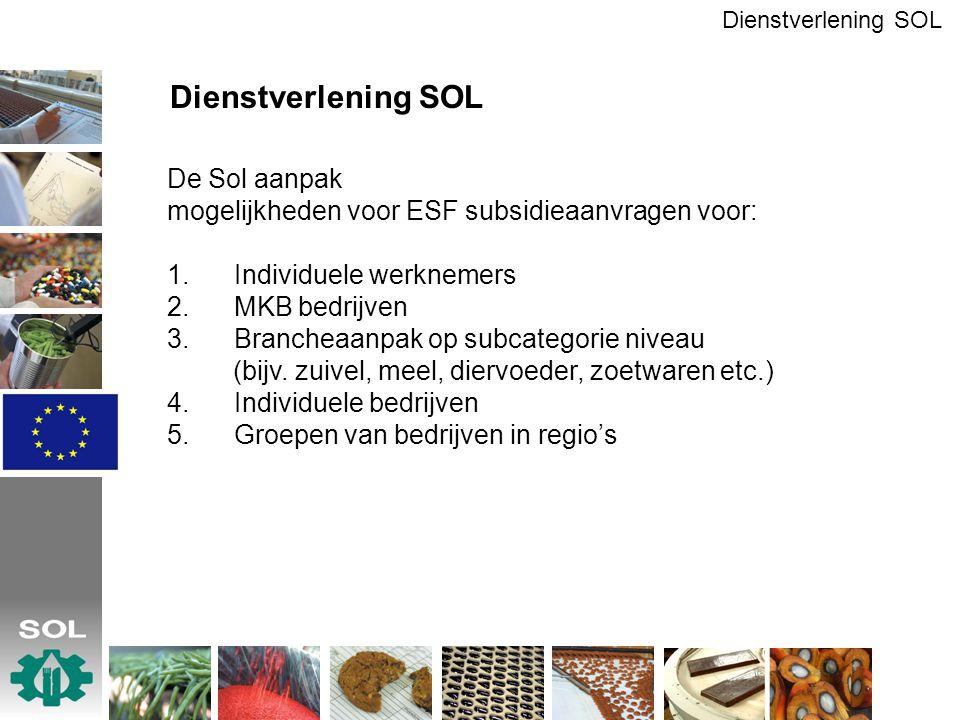 Dienstverlening SOL De Sol aanpak