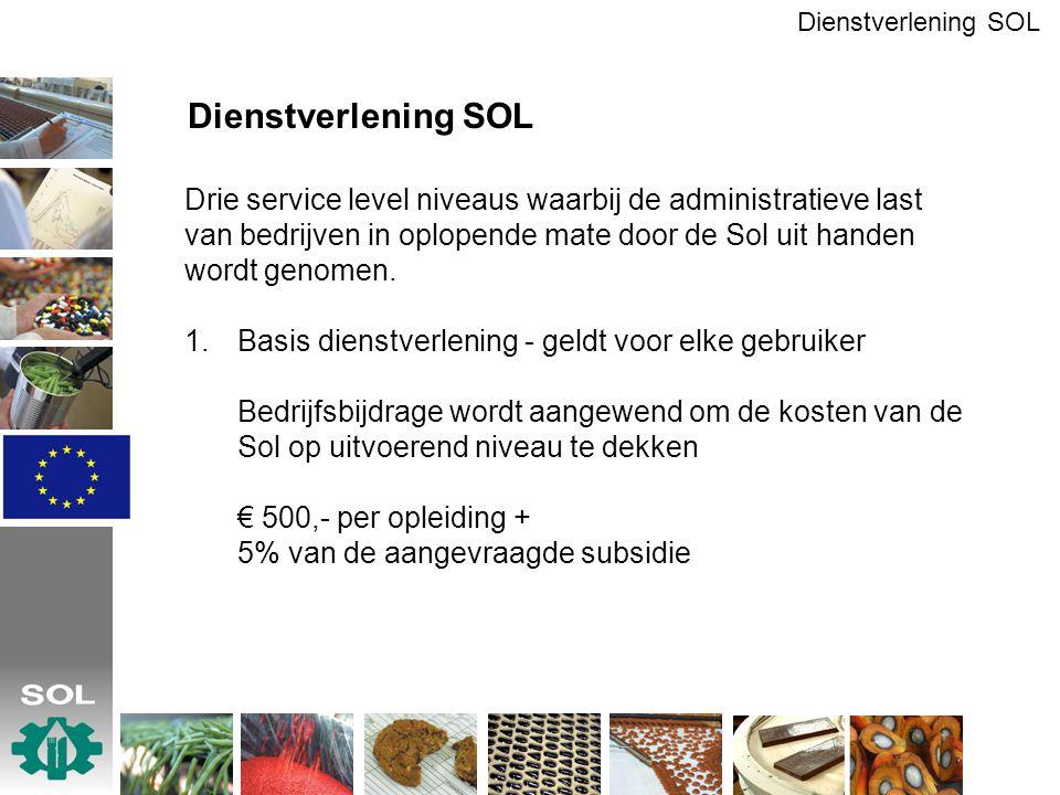 Dienstverlening SOL Dienstverlening SOL.
