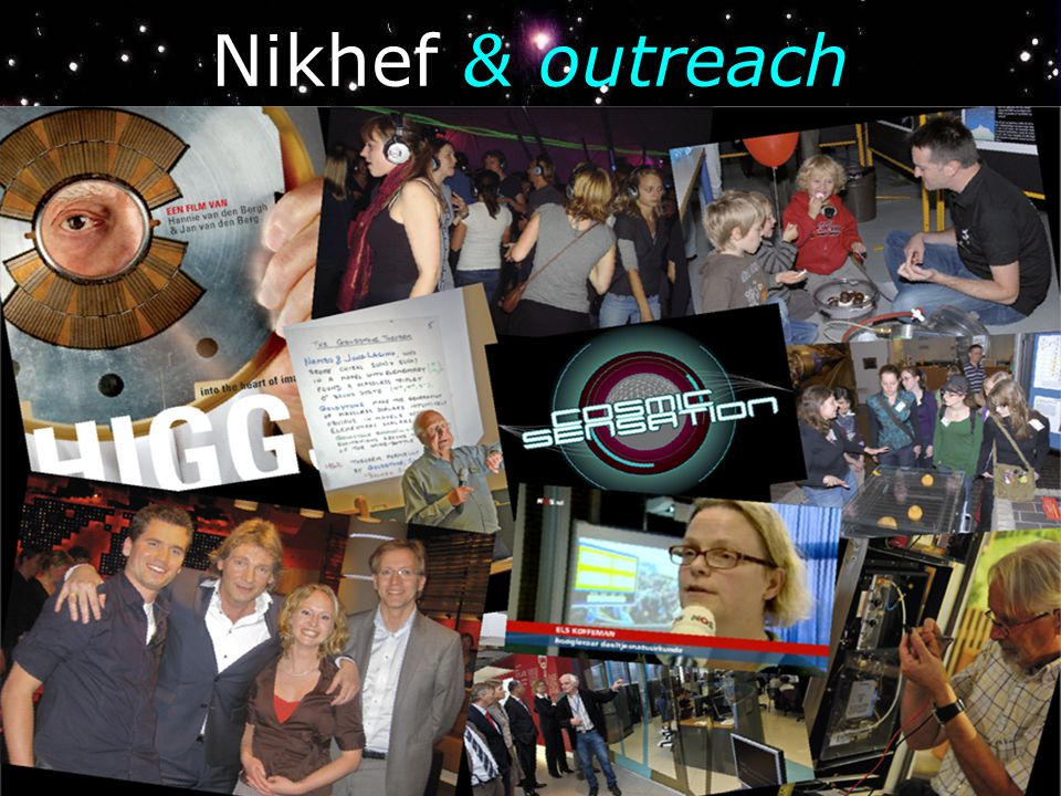 Nikhef & outreach