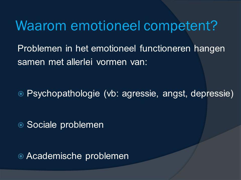 Waarom emotioneel competent