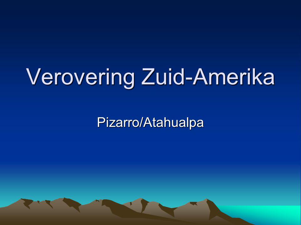 Verovering Zuid-Amerika