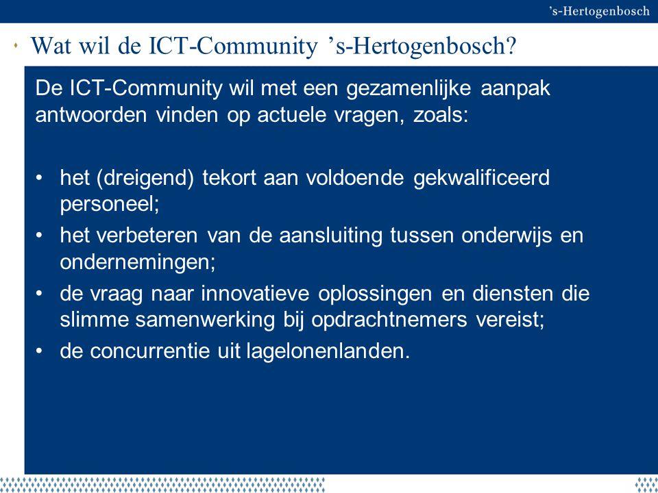 Wat wil de ICT-Community 's-Hertogenbosch
