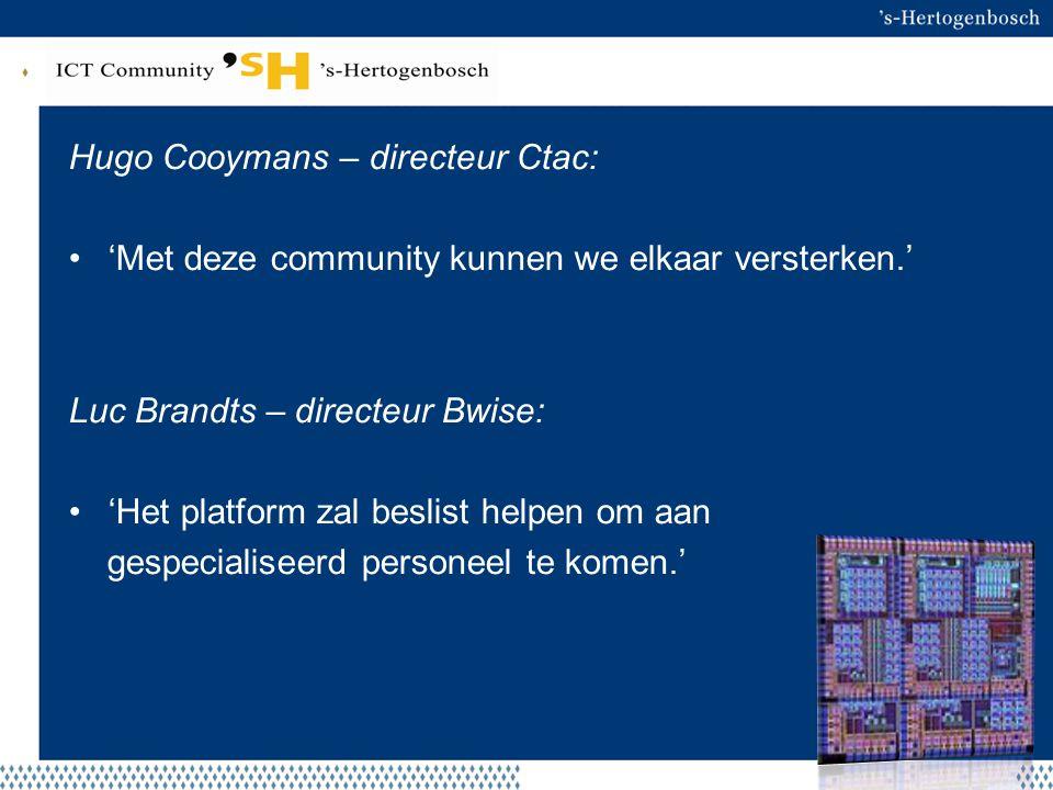 Hugo Cooymans – directeur Ctac:
