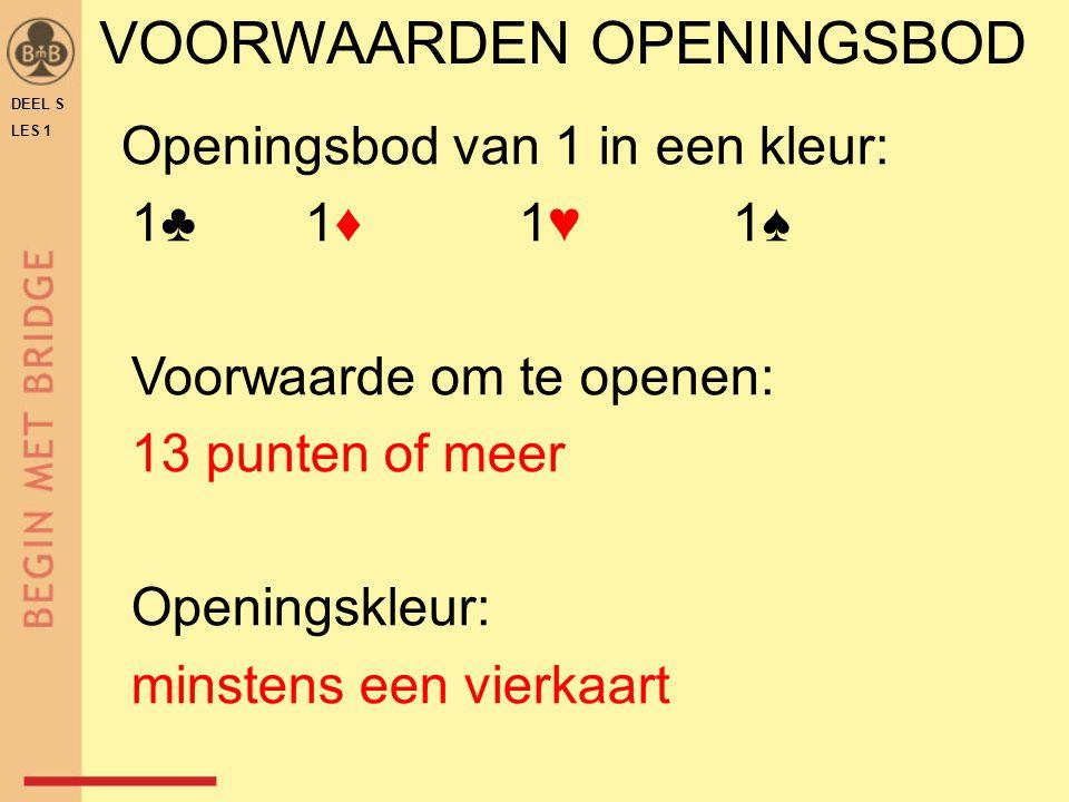 VOORWAARDEN OPENINGSBOD