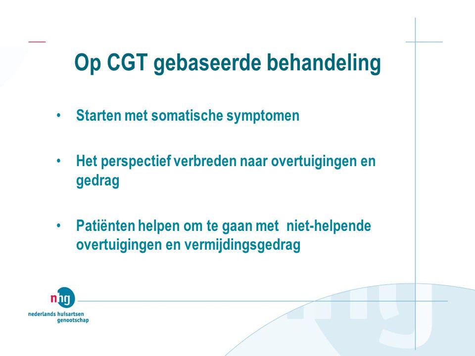 Op CGT gebaseerde behandeling