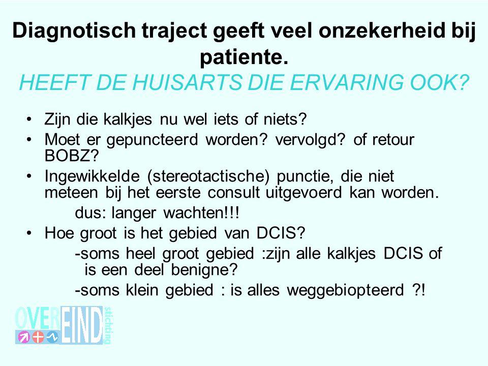 Diagnotisch traject geeft veel onzekerheid bij patiente