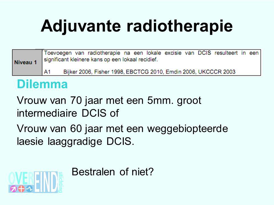 Adjuvante radiotherapie