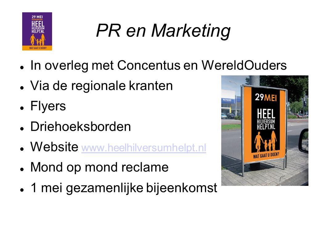 PR en Marketing In overleg met Concentus en WereldOuders
