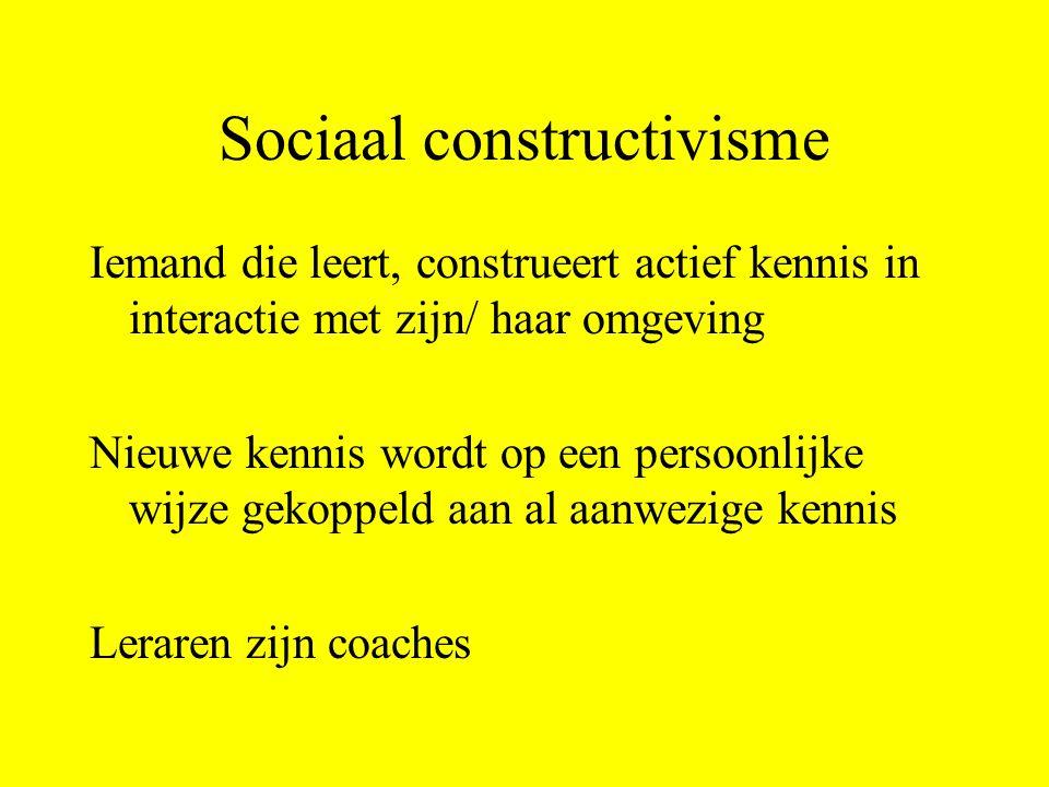 Sociaal constructivisme