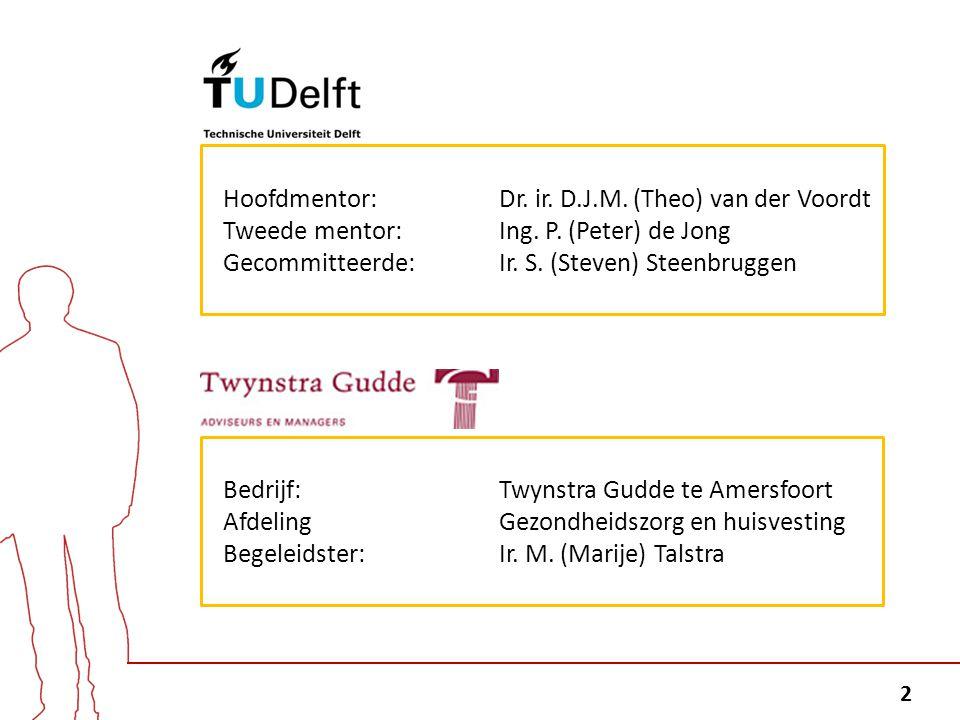 Hoofdmentor: Dr. ir. D.J.M. (Theo) van der Voordt