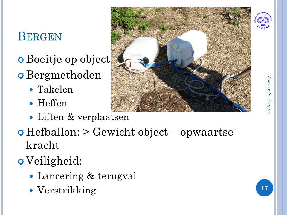 Bergen Boeitje op object Bergmethoden