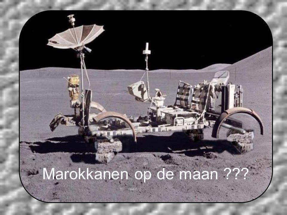 Marokkanen op de maan