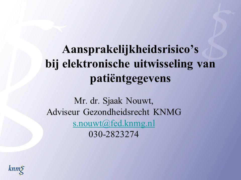 Adviseur Gezondheidsrecht KNMG