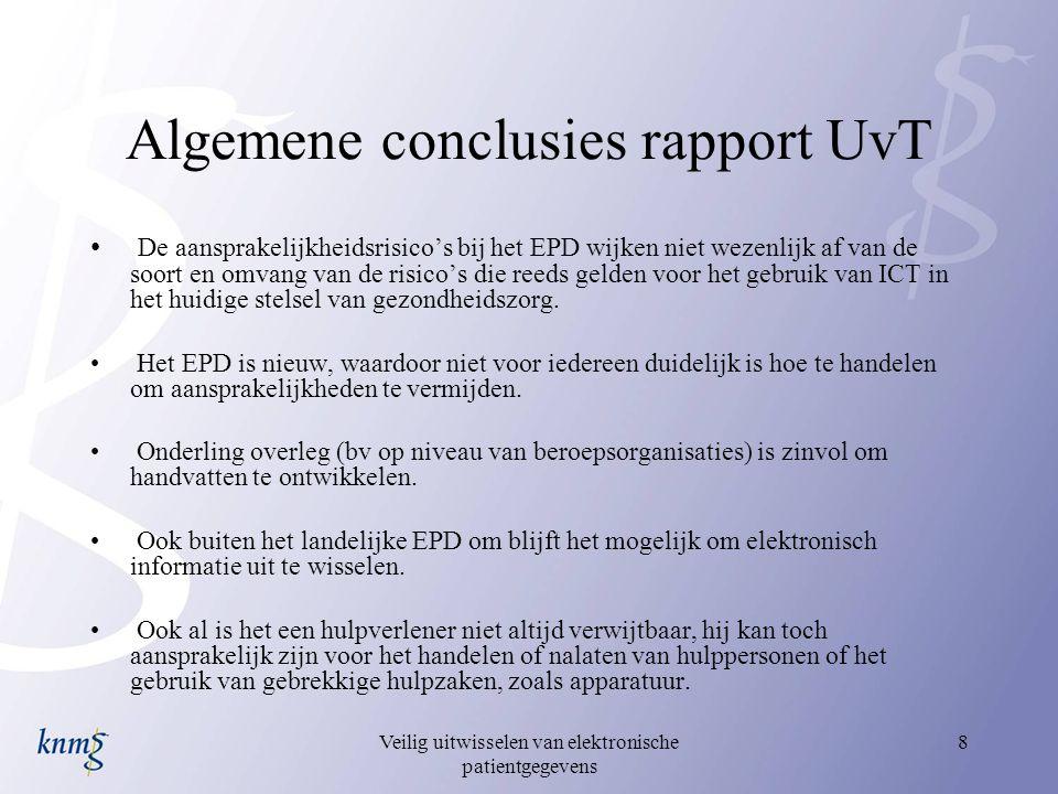 Algemene conclusies rapport UvT