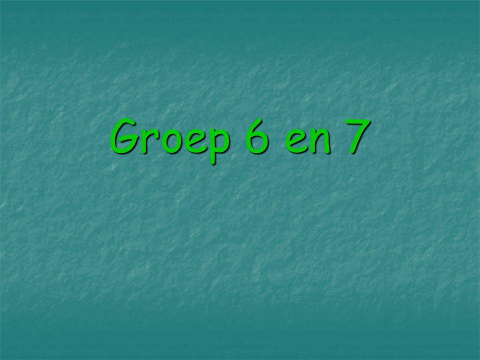 Groep 6 en 7