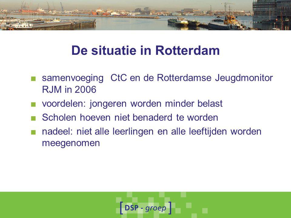 De situatie in Rotterdam