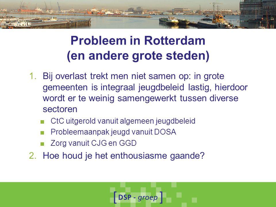 Probleem in Rotterdam (en andere grote steden)