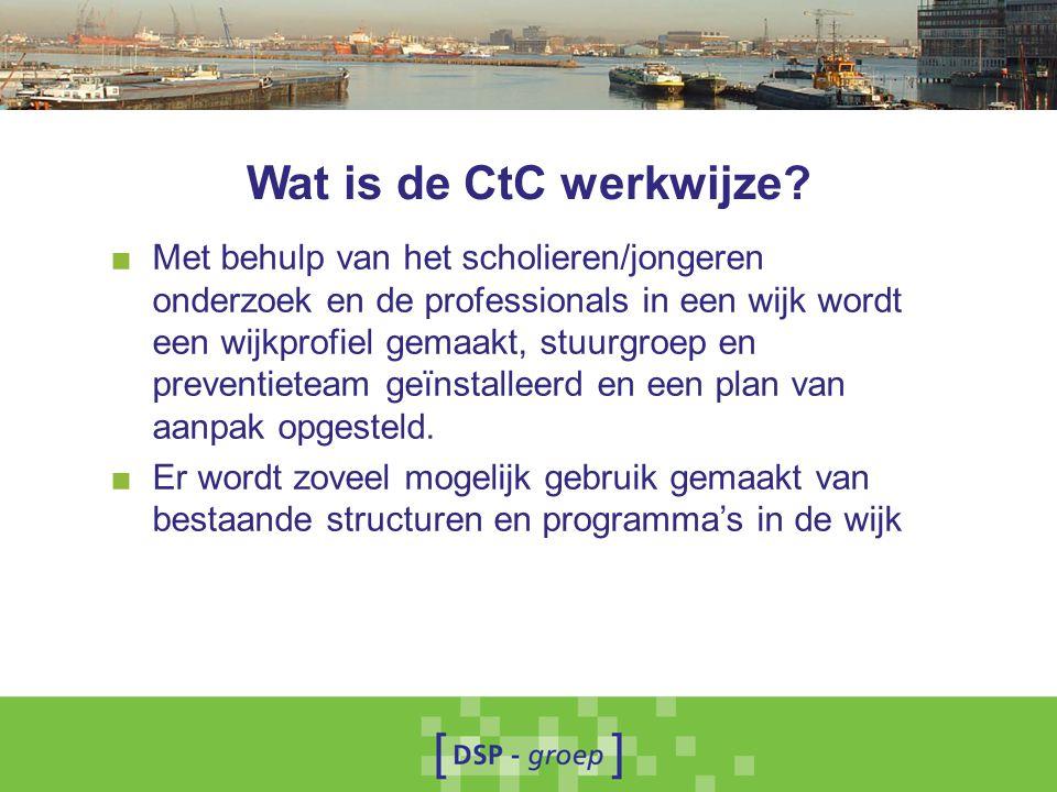 Wat is de CtC werkwijze