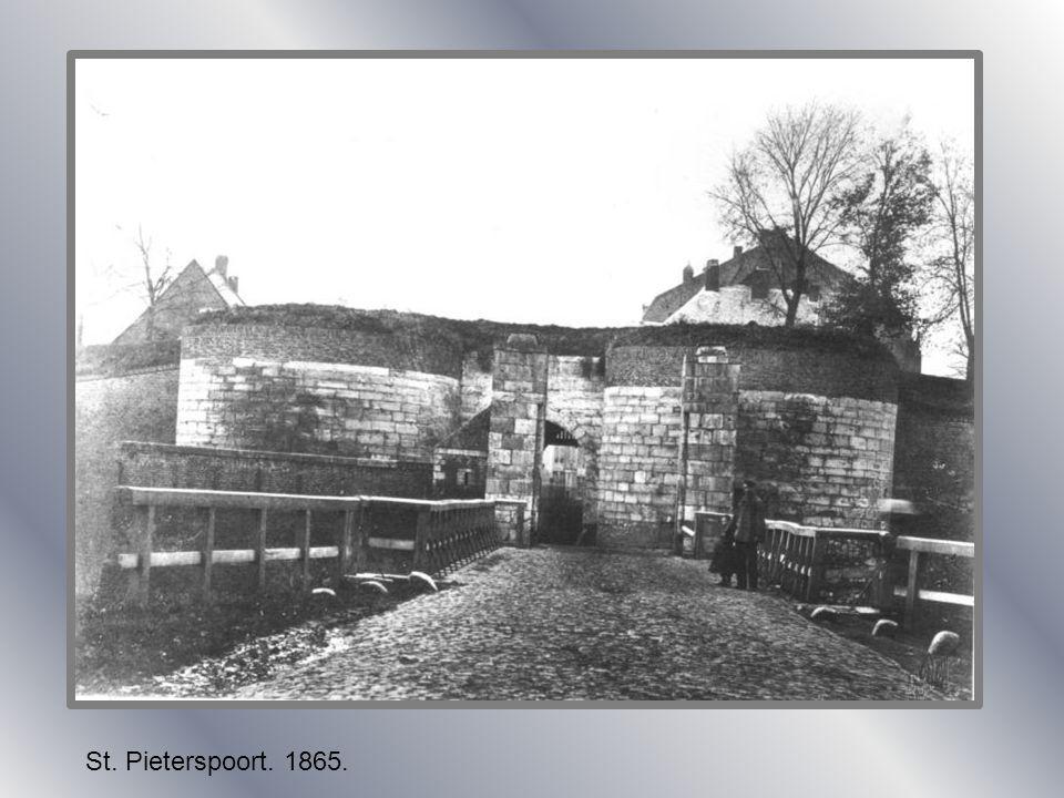 St. Pieterspoort. 1865.