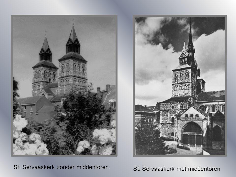 St. Servaaskerk zonder middentoren.