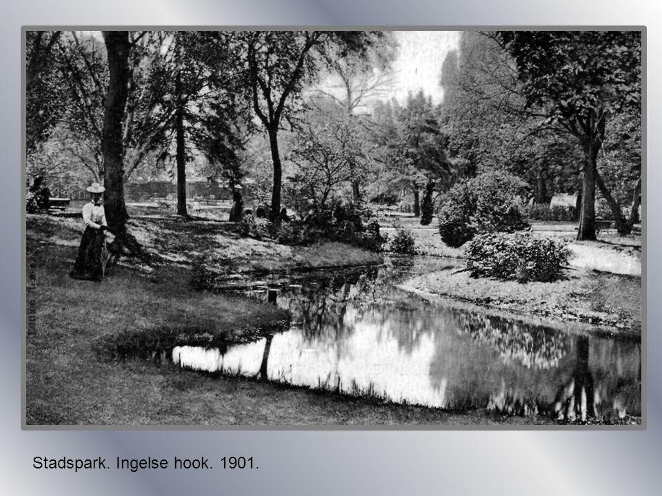 Stadspark. Ingelse hook. 1901.