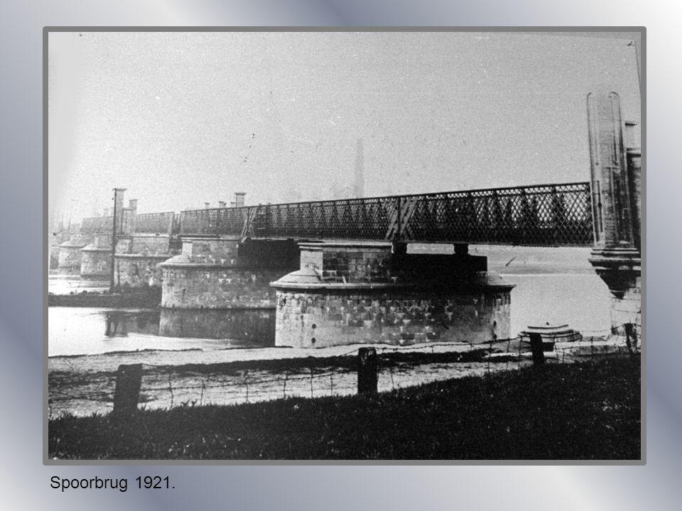 Spoorbrug 1921.