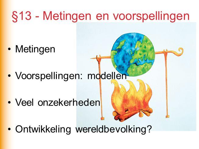 §13 - Metingen en voorspellingen