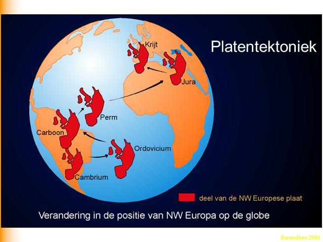 Platentektoniek Berendsen 2000