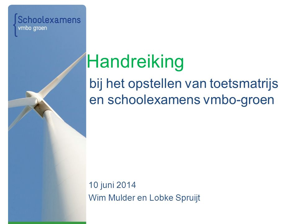 10 juni 2014 Wim Mulder en Lobke Spruijt