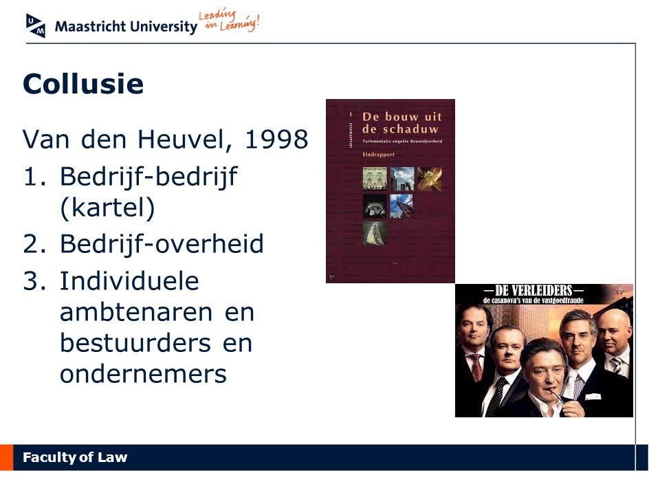 Collusie Van den Heuvel, 1998 Bedrijf-bedrijf (kartel)