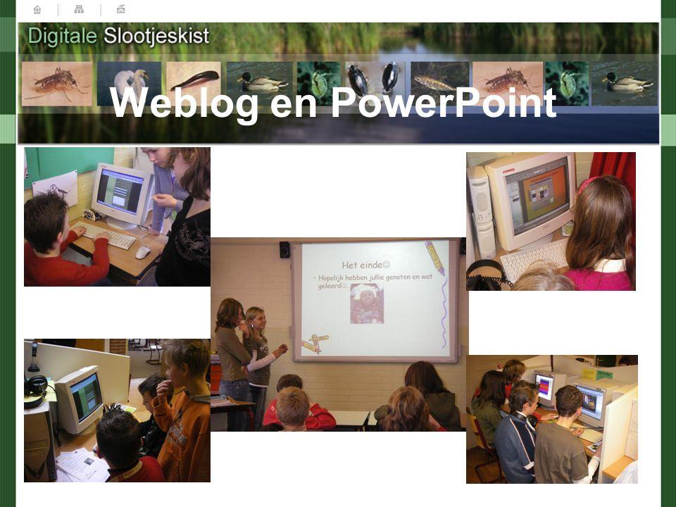 Weblog en PowerPoint