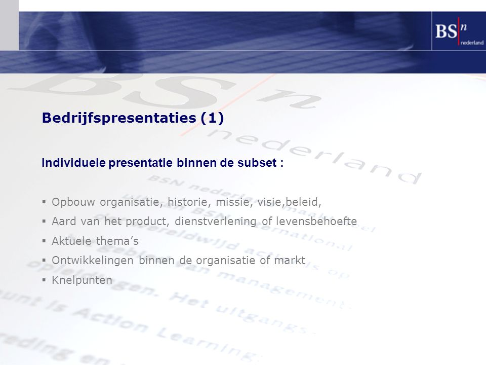 Bedrijfspresentaties (1)