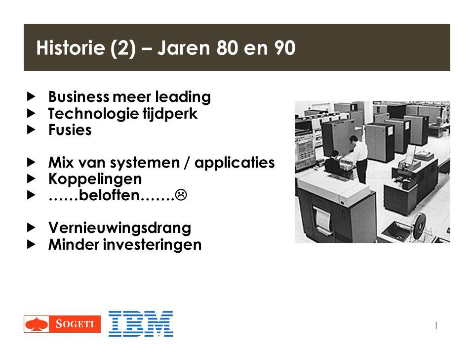 Historie (2) – Jaren 80 en 90 Business meer leading