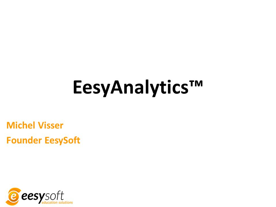 Michel Visser Founder EesySoft