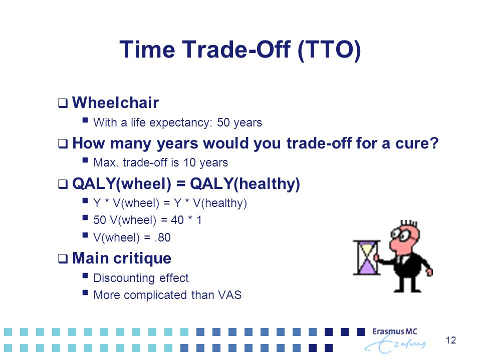 Time Trade-Off (TTO) Wheelchair