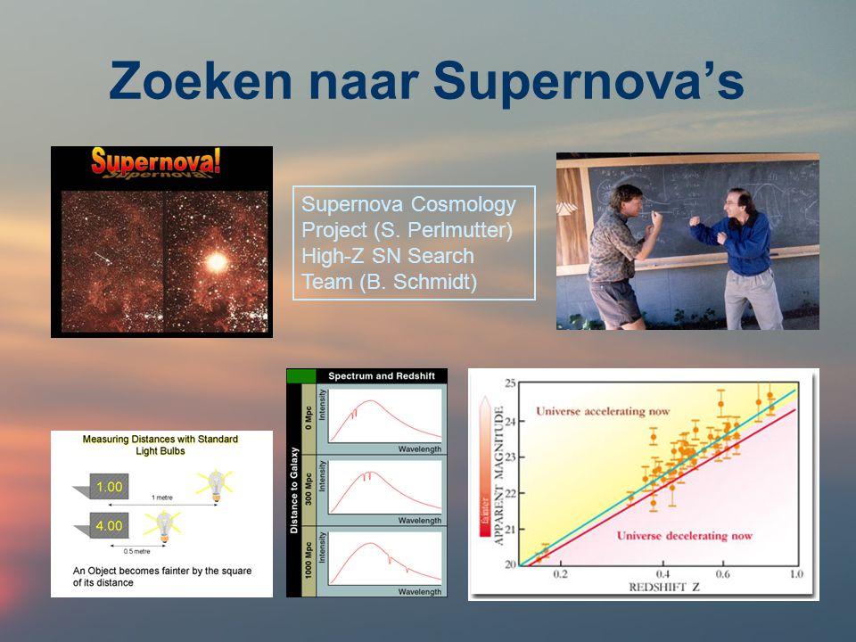 Zoeken naar Supernova's