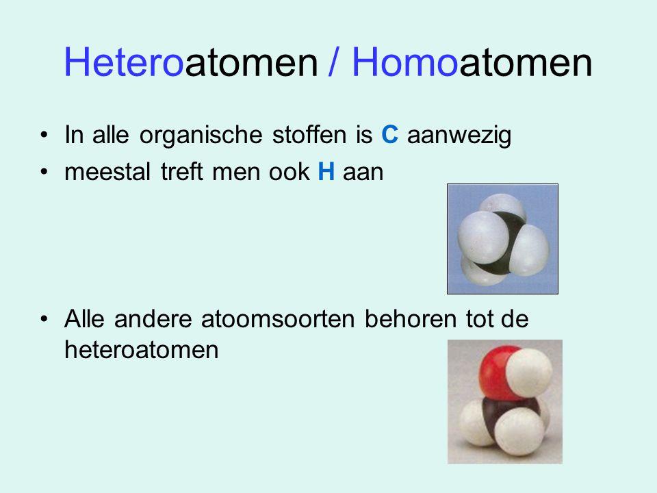 Heteroatomen / Homoatomen
