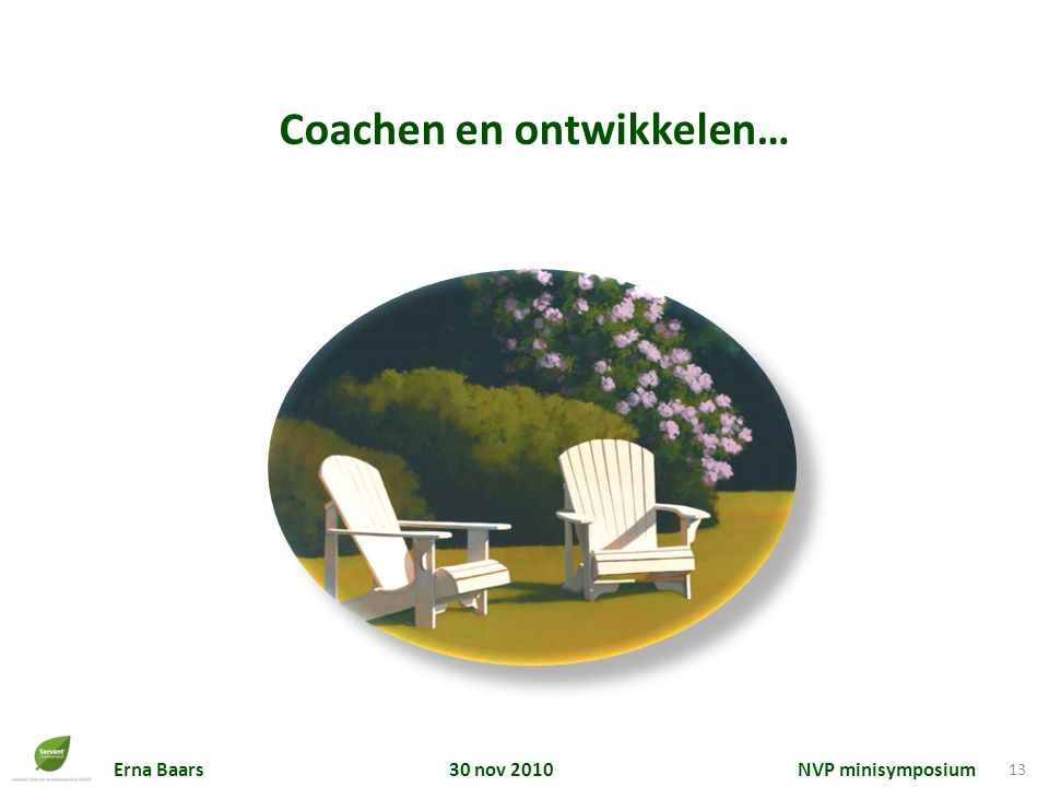 Coachen en ontwikkelen…