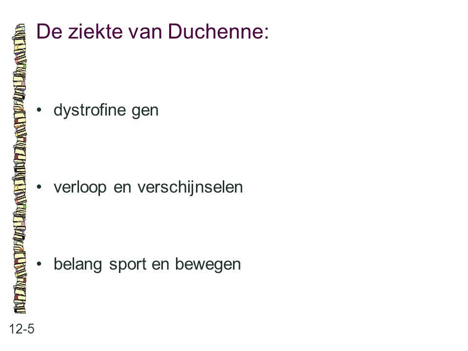 De ziekte van Duchenne: